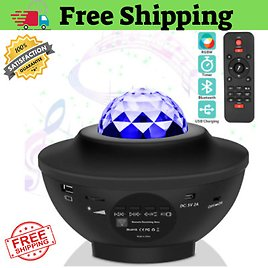 GALAXY360PRO PROJECTOR Music Starry Water Wave LED Projector Light Bluetooth