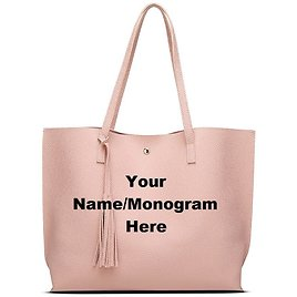 Your Name/Monogram Personalized Embroidered Tote Bags