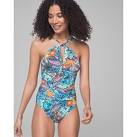 Soma Let Loose High Neck Mio One Piece Swimsuit