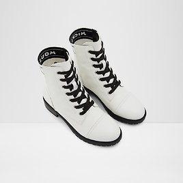 Ohsomickey White Women's Ankle Boots & Booties | ALDO US