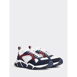 14% OFF | Mixed Material Chunk Sole Sneaker | Tommy Hilfiger