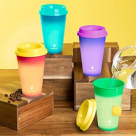12-pack Manna Hot Color Changing To-Go Cups
