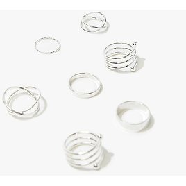 Chic Assorted Rings Set