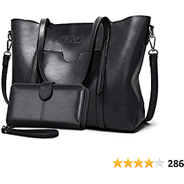 Purses and Handbags for Women Large Shoulder Tote Satchel Purse Work Bags with Matching Wallet