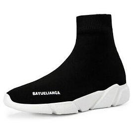 Men High-top Casual Socks Shoes Fashion Women Athletic Running Tennis Sneakers