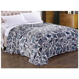 71% OFF  Noble House Printed Lightweight Microplush Blanket