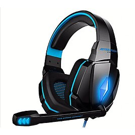 Headset Over-ear Wired Game Earphones Gaming Headphones Deep Bass Stereo Casque