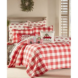 Levtex Christmas Road Trip Twin Quilt Set & Reviews - Quilts & Bedspreads - Bed & Bath