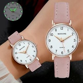 Women Luxury Watch Fashion Casual Leather Belt Watches Simple Classy