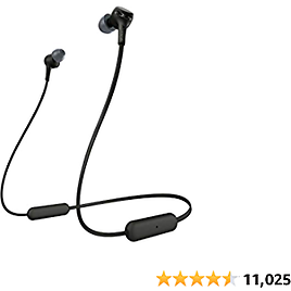 Sony WI-XB400 Wireless In-Ear Extra Bass Headset/Headphones with Mic for Phone Call, Black