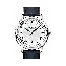 Montblanc Star Legacy Automatic Silver White Dial Men's Watch 124341