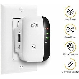 WiFi Range Extender Internet Booster Network Router Wireless Signal Repeater USA 123718733234