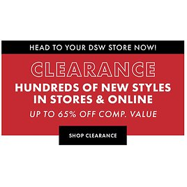 Up to 65% Off Clearance- DSW