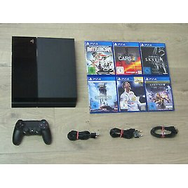 Sony PS4 Console 500GB + Original Controller + FREE GAME-Playstation 4 *