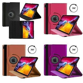 Case For For Apple IPad Air 10.9-inch 2020 4th Gen PU Leather 360 Rotating Cover