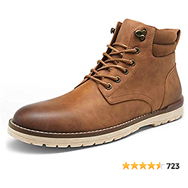VOSTEY Men's Hiking Boots Waterproof Casual Chukka Boot for Men