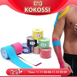31% OFF|KoKossi One Piece Kinesiology Tape Muscle Bandage Sports Cotton Elastic