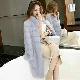 Furry Winter Coat Jacket For Female Fashion Outwear Clothes Full Sleeved Sweater
