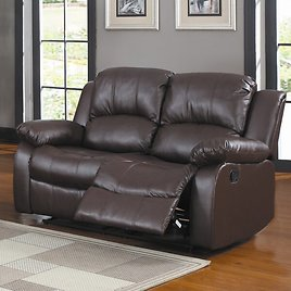 """Malec Reclining 60"""" Pillow Top Arms Loveseat"""