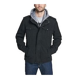 Men's Levi's® Washed Cotton Quilted Lining Hooded Field Coat
