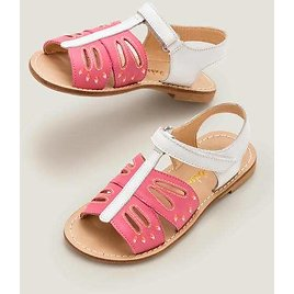 Beach Sandals - Bright Camelia Pink Butterfly   Boden US