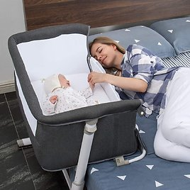 Up to 30% Off RONBEI Baby Bassinet   Amazon