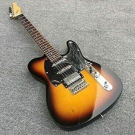 Electric Guitar, TL Style, Basswood Body with Maple Neck, Sunset Burst Paint New