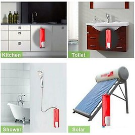 Instant Electric Tankless Hot Water Heater Shower System for Bathroom & Kitchen