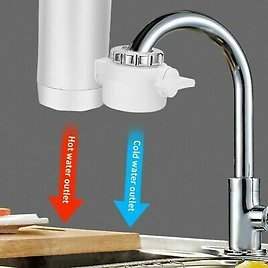 Kitchen 3000w Electric Water Heater Tap Instant Hot Faucet Heater Cold Heating