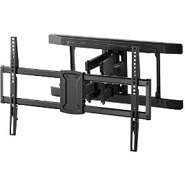 """Onn. Full Motion TV Wall Mount for TVs 47-84"""", Dual Swivel Articulating Arms"""