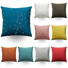 """Garden Cushion Covers Waterproof Furniture Pillow Covers Seat Outdoor 18"""" New"""