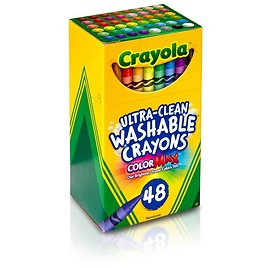48-Count Crayola Classic Ultra-Clean Washable Crayons