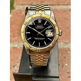 ROLEX THUNDERBIRD TURN O GRAPH VINTAGE FROM 1971 REF 1625 AUTOMATIC GOLD & STEEL