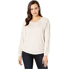 Top w/ Lace Combo On Sleeve