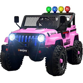 Kids Ride On Toys Electric Battry-Powered Ride-On Truck Car RC Toy w/ Remote Control