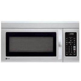 LG Electronics 1.8 Cu. Ft. Over The Range Microwave with Sensor Cook and EasyClean in Stainless Steel-LMV1831ST