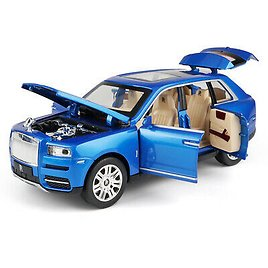 1:24 Rolls-Royce Currynan SUV Die-cast Model Car Toy Sound&Light Collection Gift