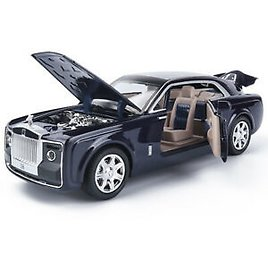 1:24 Rolls-Royce Sweptail Alloy Die-cast Model Car Toy Sound&Light Collection