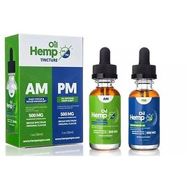AM/PM Broad-Spectrum Oil Tinctures for Daytime Focus or Nightime Sleep-Aid Support