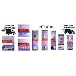 L'oreal Filler + Hyaluronic Acid Mask, Serum Or Eye And Face Creams Brand New