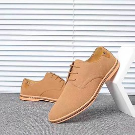 Large Size Men's Casual Men's Shoes Matte Suede Shoes Large Influx Of Male Oxford Bottom Shoes Sale, Price & Reviews | Gearbest