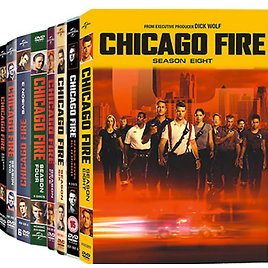 CHICAG0 FIRE COMPLETE SEASONS 1-8 DVD SERIES BUNDLED NEW