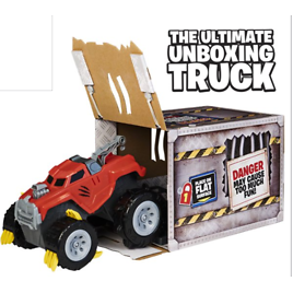 Interactive Video The Animal, Interactive Unboxing Toy Truck with Retractable Claws and Lights and Sounds, for Kids Aged 4 An