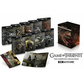 Game of Thrones:The Complete Series Collection(Blu-ray 4K UHD+Digital)NEW 883929720293