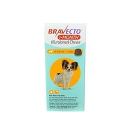 Bravecto 1-Month Chews for Dogs 1pk