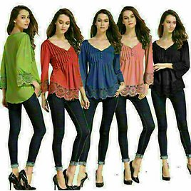 Women Loose Top Fashion Ladies Long Sleeve Lace Up Blouse V-neck Casual T-Shirt