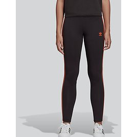 NWT $196 Adidas Womens Black Striped Casual Joggers Running Tights Pants Size XL