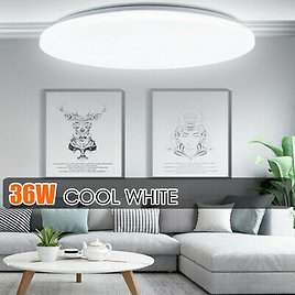 36W LED Surface Mount Fixture Ceiling Light Room Kitchen Round Panel Lights 59236300910