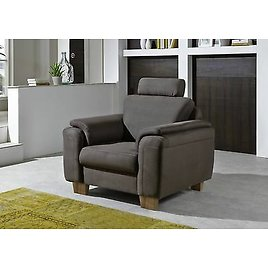 Chair Lounge Chair TV Armchair Upholstered Armchair Oxfort Mocha By Zehdenick NEW