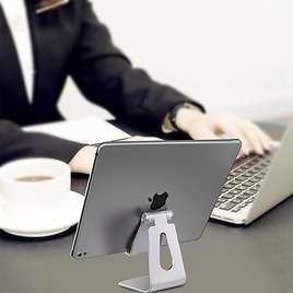 Universal Adjustable Aluminum Stand for Tablets and Phones